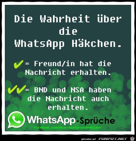 Die Wahrheit Ber Die Whatsapp Hkchen Wer Hat Meine Nachrich