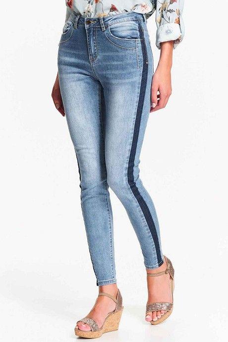32c329ce0f2 Jeans Top Secret   Γυναικεία στενά τζιν, 2019   Στενά τζιν, Τζιν και ...
