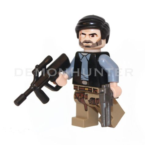 Made using LEGO /& custom parts. The Walking Dead Governor Philip Minifigure