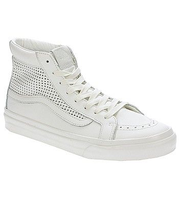 Puede ser calculado Vibrar Muslo  shoes Vans Sk8-Hi Slim Cutout - Square Perf/Blanc De Blanc - blackcomb-shop.eu  | Vans sk8 hi slim, Vans sk8, Shoes