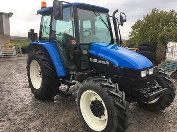 New Holland Tl 90 Tl 100 Tractor Parts Catalog Manual Tractors
