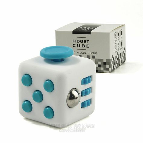 Adults Stress Fidget Cube Children Desk Toy Cubes Vinyl Desk Toy 1 PCS Relief