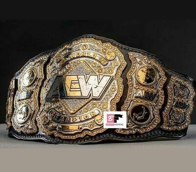 Aew World Championship Belt Dual Layer All Elite Wrestling Championship 8mm Zinc Belt Wrestling World Championship