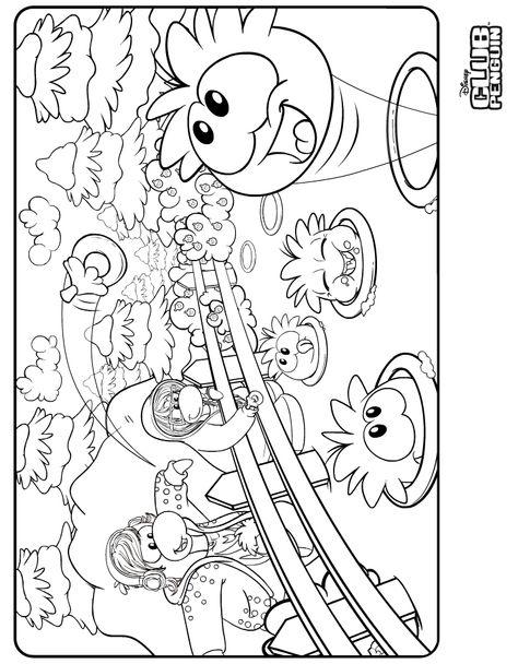 Best Club Penguin Coloring Pages Sensei - http://coloringpagesgreat ...