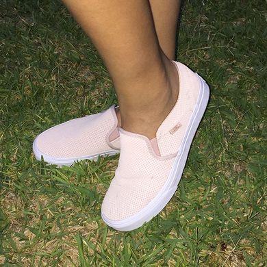 Vans Asher Perforated Slip-On Sneaker