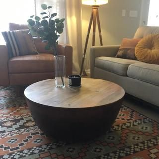 Avani Coffee Table Coffee Table Drum Coffee Table Table