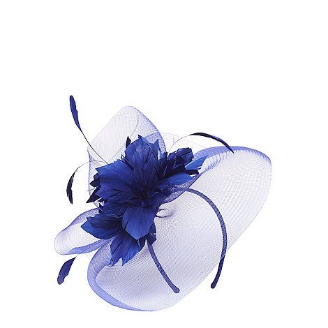 9bd54f22 Dorothy Perkins Cobalt flower fascinator | Debenhams