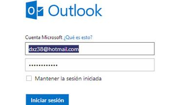 Hotmail Sesion