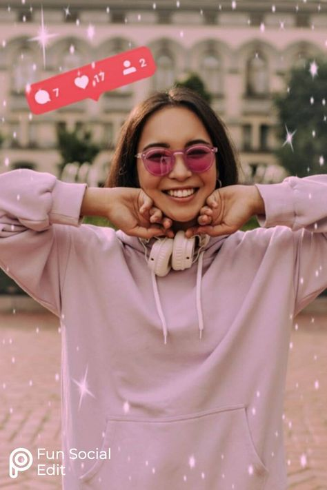 Use our Stickers to create this fun social edit. We've got the replay, start yours now! #instagram #photoedit #creativephotoshoot
