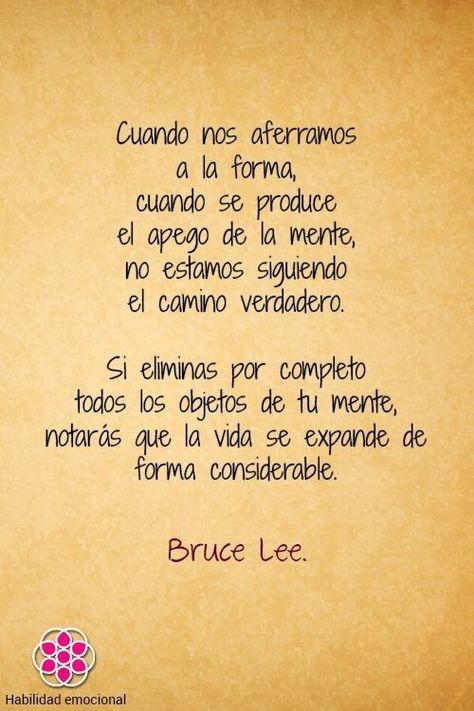 Frases de Bruce Lee, NO, 28 Enseñanzas de un Gran Maest... en Taringa!