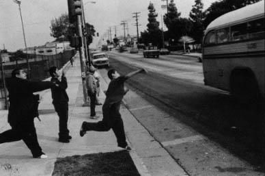 Mark 12 And Other Evergreen Boys Throw Bottles At Their Enemies Who Are On The Way Home From School East Los Angeles Chicano Movies Chicano Love