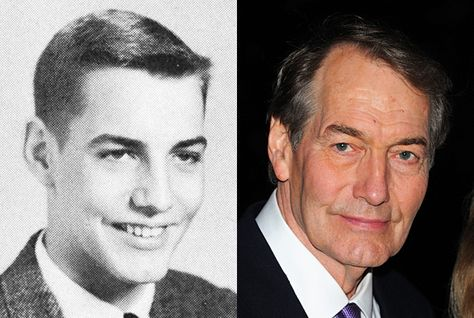 Charlie Rose, PBS's Charlie Rose:   For the past 20 years, Charlie Rose has sat at a simple table against a black background and interviewed celebrities, politicians, and newsmakers on PBS. In 1958, he was a dapper senior at Henderson High School in Henderson, North Carolina.