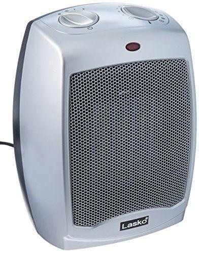 Lasko 754200 Ceramic Heater With Adjustable Thermostates Ceramic Heater Lasko Heater