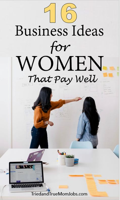 16 Little-Known Business Ideas for Women that Pay Well in 2020 - All Tried and Tested