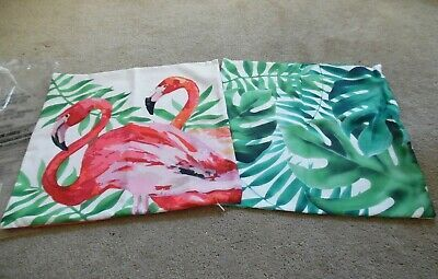 Avon 2020 Christmas Flamingo Details about NEW/OPEN PACK AVON TROPICAL OASIS PILLOW COVERS   16