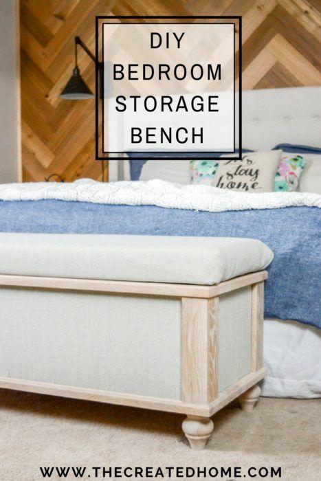 Diy Upholstered Storage Bench Diy Storage Bench Diy Upholstered