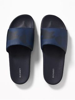 Men S Clothing Shop New Arrivals Old Navy Leather Slide Sandals Men S Shoes Men S Shoes Accessories
