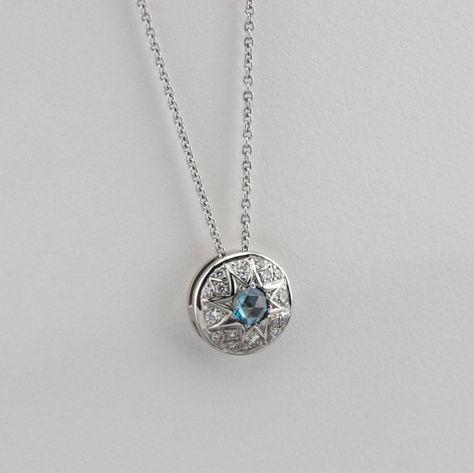 Fashion Constellation love cœur yeux Lune incrusté cristal multi-couche Colliers