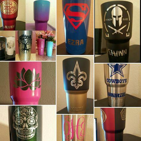Rgvcustomecoatingandyetis Yeti Cup Designs Powder Coated Cups