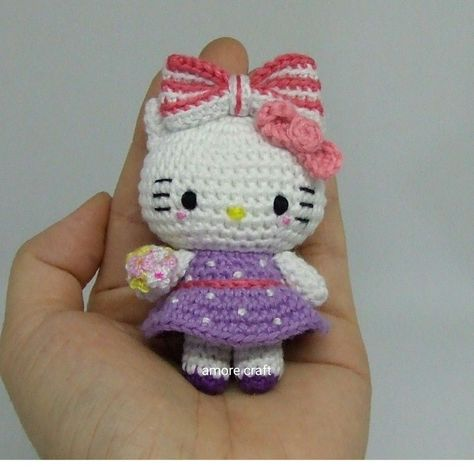 Amigurumi Hello Kitty Ballet Dancer - Video Tutorial. Hope I can ... | 474x474