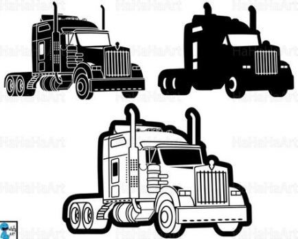 Trendy Semi Truck Clipart Clip Art 43 Ideas In 2020 Semi Trucks Truck Design Digital Graphic Design