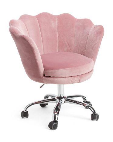 Alana Velvet Office Chair Accent Furniture T J Maxx Velvet