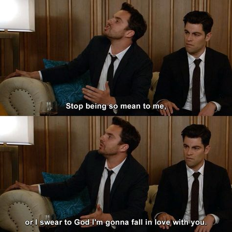 Check out the latest and funniest quotes of New Girl. New Girl Memes, New Girl Funny, Funny Girl Quotes, Funny Memes, Schmidt New Girl Quotes, New Girl Schmidt, Nick Miller Quotes, New Girl Nick And Jess, New Girl Tv Show