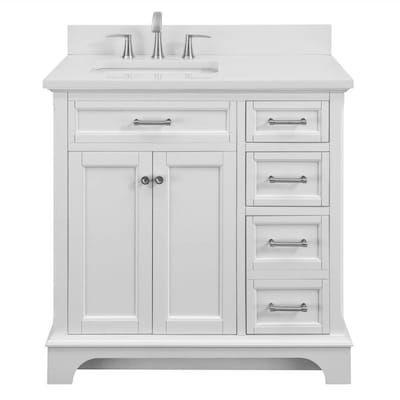 Bathroom Vanities At Lowes Com White Vanity Bathroom 36 Inch Bathroom Vanity Single Sink Bathroom Vanity