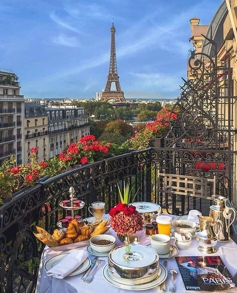 "The view from Carrie's hotel room at Hotel Plaza Athenee - Paris, France- Where ""Sex and the City"" was filmed The Places Youll Go, Places To Go, Europe Places, Beautiful Places To Travel, Travel Aesthetic, Aesthetic Outfit, Aesthetic Fashion, Aesthetic Girl, Paris Travel"