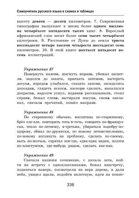 Samouchitel Russkogo Yazyka V Shemah I Tablicah Alekseev F S Nauchnye Knigi Grammaticheskie Uroki Yazyk
