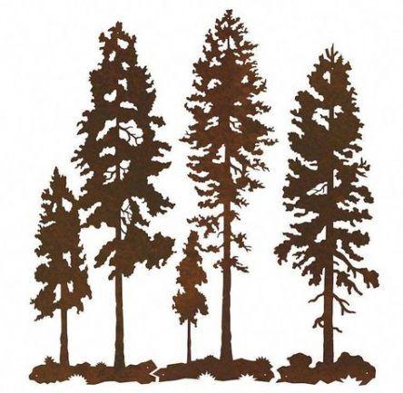 16 Trendy Pine Tree Icon Search Metal Tree Wall Art Tree Wall Art Diy Art Gallery Wall