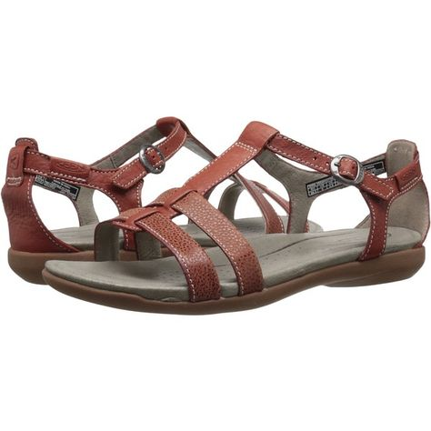 Keen Rose City T-Strap (Compass) Women s Shoes ( 80) ❤ liked on Polyvore  featuring shoes 493d267853