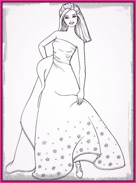 Dibujos De Barbie Sirena Para Colorear E Imprimir Pictures   Dibujos ...