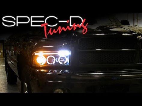94 01 Dodge Ram 1 Pc Euro Style Led Crystal Headlights Chrome Dodge Ram Dodge Ram Pickup Dodge Ram 1500