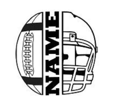 Football Outline, Flag Football, Football Shirts, Football Helmets, Football Sister, Football Banquet, Football Cheer, Sports Shirts, Softball