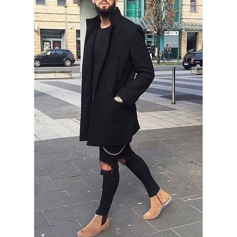 Winter men's trench long jackets coats overcoat jackets solid slim fit outwear hombre men clothes 4 colors