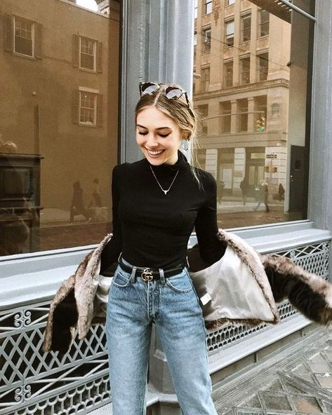 17 Simple Denim Outfits You Can Copy Now - Alles über Damenmode