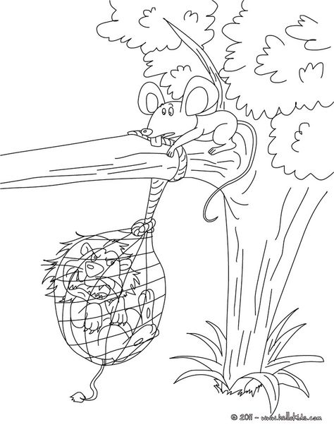 Dessin Le Lion Et Le Rat : dessin, Idées, Fable, Fable,, Fables, Fontaine,, Fontaines