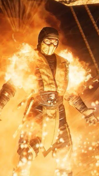 Scorpion Flame Mortal Kombat 11 4k3840x2160 Wallpaper