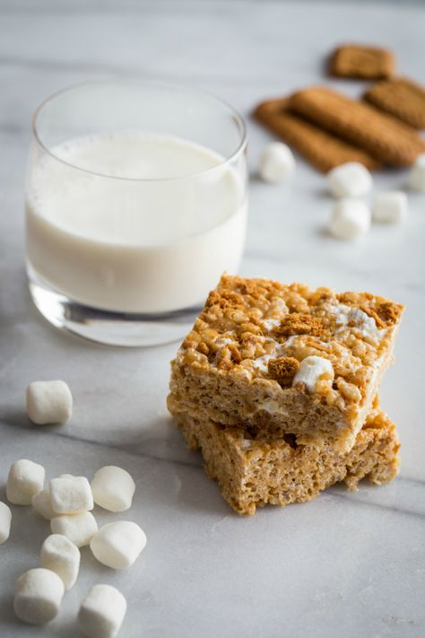 Biscoff Marshmallow Treats