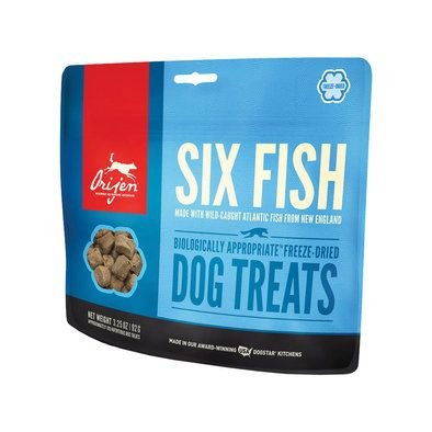 Fd Treat 6 Fish Freeze Dried Dog Treats Dog Treats Natural