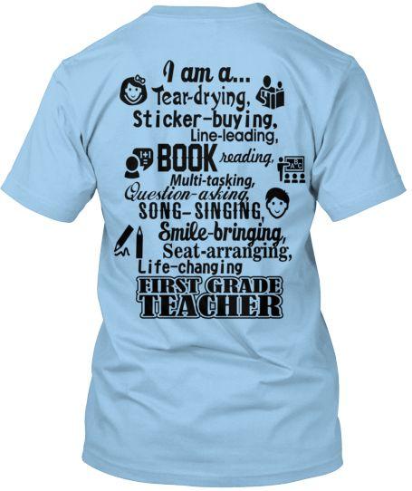 I am a 1st Grade Teacher Tee!
