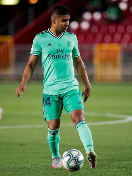 Casemiro Real Madrid Pictures And Photos Getty Images In 2020 Real Madrid Real Madrid Photos Real Madrid Pictures