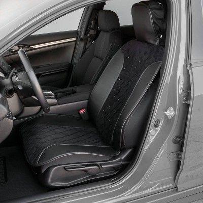 Remarkable Swarovski 1Pc Jet Black Premium Sideless Seat Cover Black Andrewgaddart Wooden Chair Designs For Living Room Andrewgaddartcom