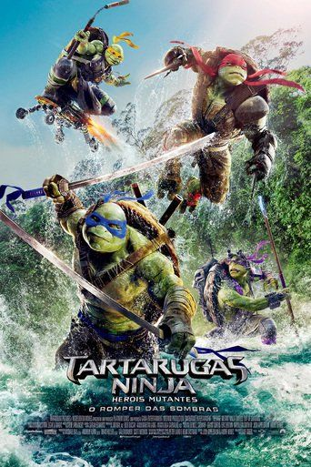 Assistir As Tartarugas Ninja Fora Das Sombras Online Dublado Ou