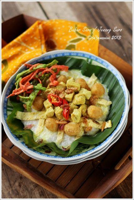 Bubur Suro Jenang Suro Resep Masakan Indonesia Resep Resep Masakan Makanan
