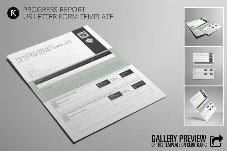 Progress Report US Letter Form- http\/\/luvly\/items\/5170 - progress reporting template