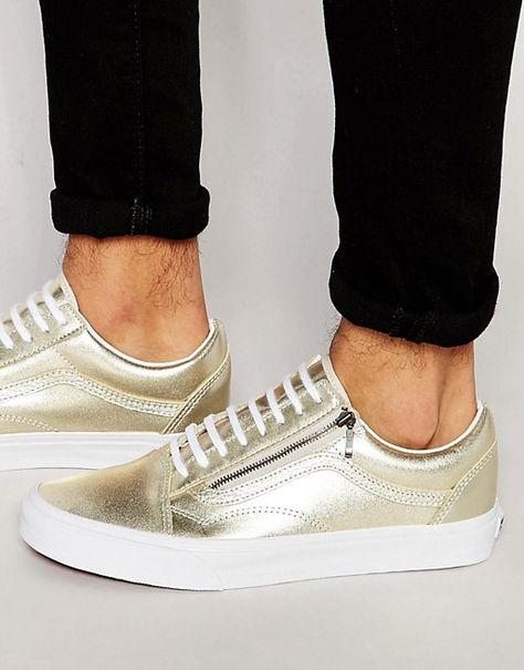 vans zapatillas de hombre cremallera