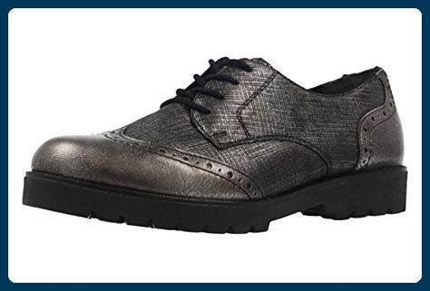 REMONTE Damen Halbschuhe Grau Schuhe in Übergrößen