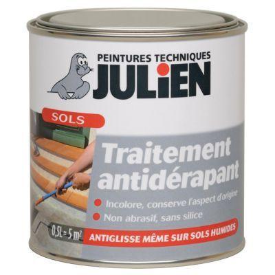 Traitement Anti Derapant Sols Julien Glispass 0 5l En 2020 Antiderapant Antiderapant Escalier Et Castorama